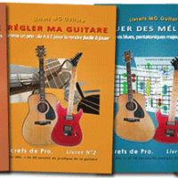 Catalogue Guitare Livrets PDF - 4 livrets
