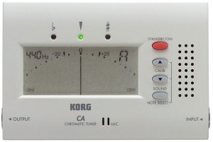 Accorder ma guitare Korg-CA-chromatic-tuner