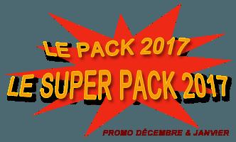 Packs guitare promo 2017