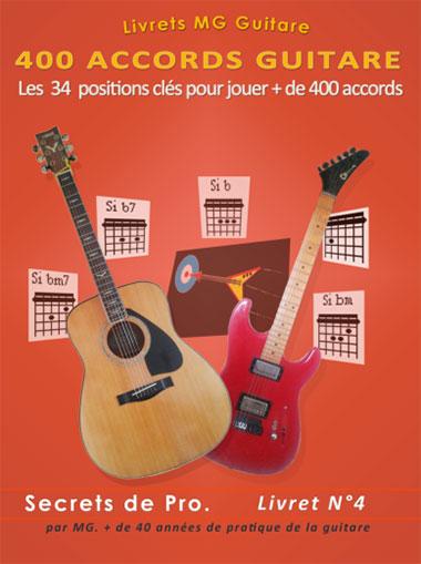 accords guitare débutants Livret N°4