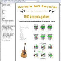 accords guitare pdf