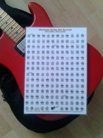 Catalogue Guitare Livrets PDF - Format A 3/ A4